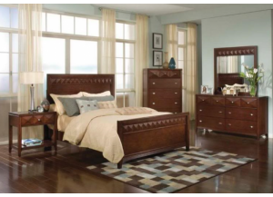 Reflection Queen Panel Bed