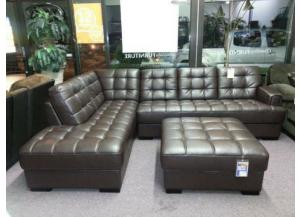 #9008 Bonded leather Sectional