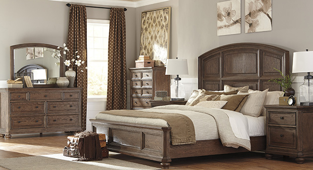 Modern & Contemporary Bedroom Furniture Sets - Ashley Furniture Store